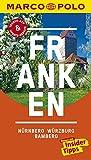 MARCO POLO Reiseführer Franken, Nürnberg, Würzburg, Bamberg: Reisen mit Insider-Tipps. Inklusive kostenloser Touren-App & Update-Service - Christoph Borucki