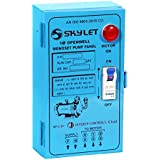 Sky Let Single Phase Starter Panel for 1.5 HP Single Phase Submersible Motor and Pump (Blue)