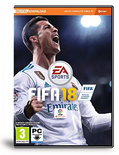 FIFA 18 - Edición estándar (La caja contiene un código de descarga