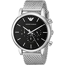 Watch Emporio Armani Luigi Ar1808 Men´s Black