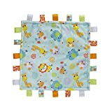 Playgro Kinder–Kuscheltuch Tiere Dschungel (0186350)