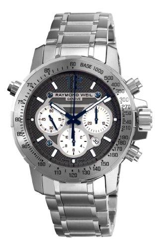 Raymond Weil 7800-TI-05607 - Reloj de automático para hombre, con correa de acero inoxidable, color plateado