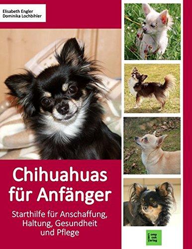 Produktbild bei Amazon - Chihuahuas für Anfänger: Starthilfe für Anschaffung, Haltung, Gesundheit und Pflege (compbook pets)