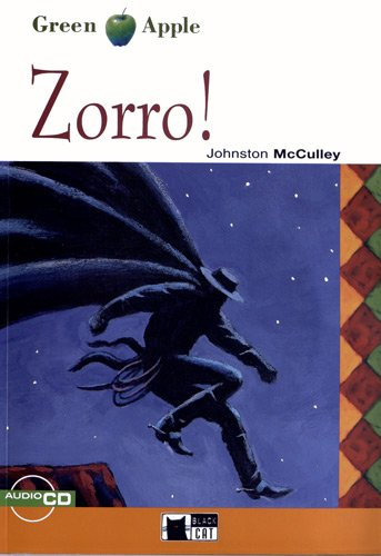 Zorro! Con audiolibro. CD Audio (Green apple) por Johnston McCulley