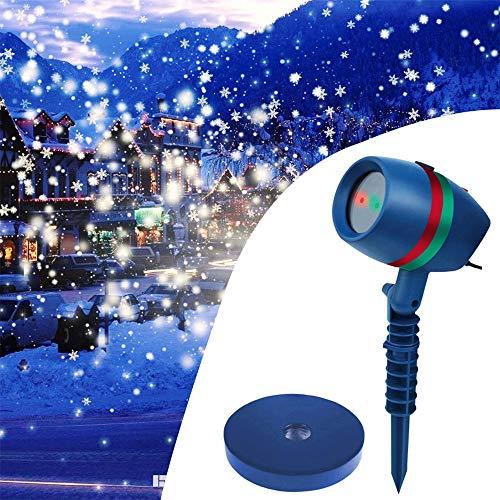 YLOVOW LED-Projektor beleuchtet Wasserdichte Bewegungsprojektor LED-Licht, Innendekoration für Party Geburtstag Urlaub Hochzeit Halloween Weihnachten ect