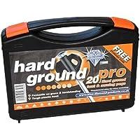 Blue Diamond Hard Ground Pro Pegs 20's With Free Case