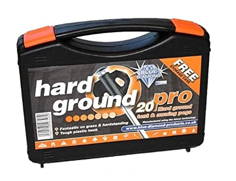 Blue Diamond Piquets de tente Pro Hard Ground 20