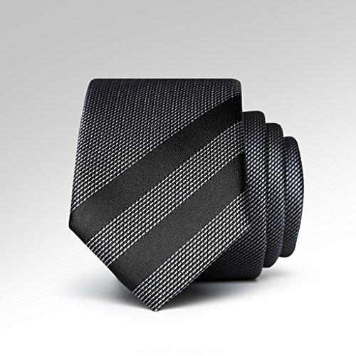 Necktie Cuiping- Krawatte der koreanischen beiläufigen Männer einfache Nano wasserdichte schwarze Geschenkbox-Bindung