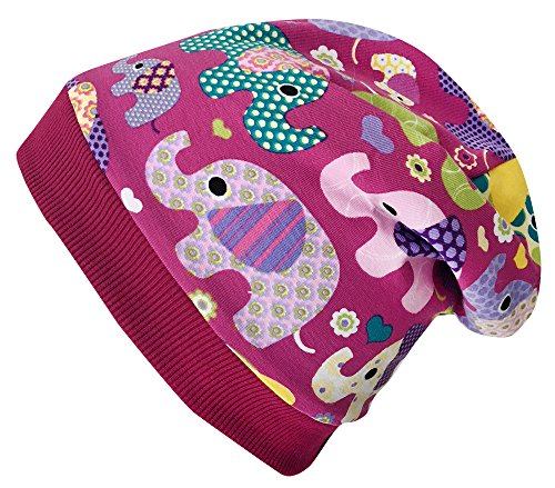 Wollhuhn - Sombrero - para niña ELEFANTEN Beere M: KU 51/53 (Ca...
