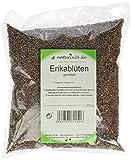 Naturix24 Erikablüten, Heidekrautblüten gerebelt - Beutel, 1er Pack (1 x 250 g)