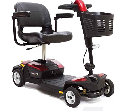 """Alpenmobil """"Go-Go"""" elektrisches altersgerechtes Invalidenfahrzeug für Reisen / Behindertenfahrzeug für Senioren oder Personen mit einer Gehbehinderung für Reisen"""