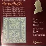 Haydn: Symphonies Nos 1, 2, 3, 4 & 5 /The Hanover Band · Goodman