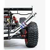 Parts & Accessories - Exhaust Tuned Pipe Muffler Silencer for 1/5 HPI KM Rovan Baja 5B 5T 5SC 5SS Rc Boat Parts ()