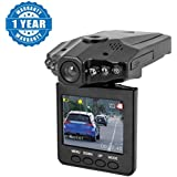Captcha Portable 2.5-Inch HD Car Vehicle Safety Backup DVR Road Dash Video Camera Recorder (1 Year Warranty, Color May Vary)
