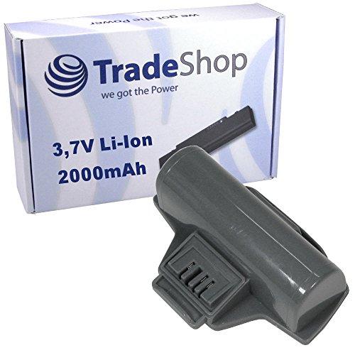 Trade-Shop Premium Li-Ion Akku 3,7V / 2000mAh / 7Wh ersetzt Kärcher 2.633-123.0, 4054278018140 für Kärcher Fenstersauger WV5, WV5 Plus, WV5 Premium