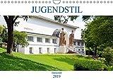 Jugendstil - Darmstadt (Wandkalender 2019 DIN A4 quer): Von der Mathildenhöhe bis zum Hauptbahnhof, Architektur einer vergangenen Epoche. (Monatskalender, 14 Seiten ) (CALVENDO Orte)