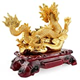 JIN Tier Drachen Shop Kassierer Schnitzen Dekoration Handwerk Geburtstagsgeschenk Feng Shui Business Geschenk Home Office Dekoration