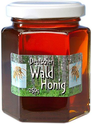 Deutscher Wald Honig - Waldhonig - Herkunft garantiert aus Deutschland in bester Qualität