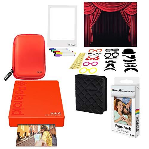 rer Fotodrucker (Rot) Photo Booth Kit ()