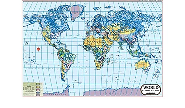 Buy World Climate Map Book Online at Low Prices in India ...