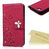 Mavis's Diary iPhone Se / 5S / 5 Coque Étui en Cuir Protection Housse Portefeuille...