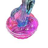 Transparent Mehrfarbenkristallschlamm Clay Fluffy Slime Schlamm Bunter Mischender Schleim Kitt Scented Scherzt Lehm-Spielzeug Für Kinder und Erwachsene Schleim Squeeze Spielzeug