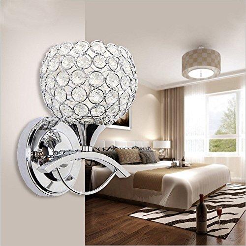 Larsure vintage stile industriale illuminazioni per pareti parete parete applique lampada parete di cristallo lampada bedroom comodino hotel soggiorno lampada da parete guzhen luci, 120mm