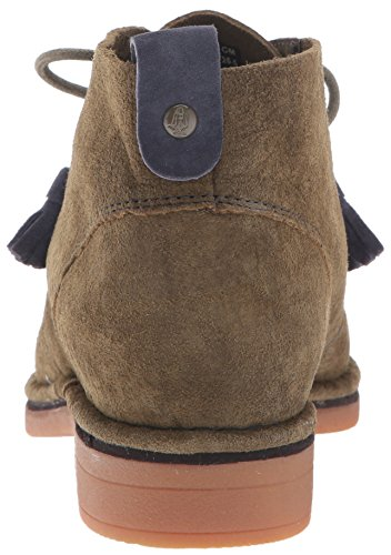 Hush Puppies Cyra Catelyn, Bottes femme Dark Olive suede