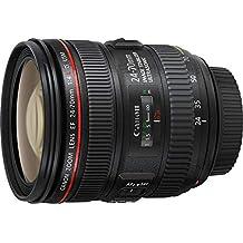 Canon Standardzoomobjektiv EF 24-70mm f/1:4L IS USM (77mm Filtergewinde) schwarz   (Generalüberholt)