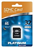 Platinum 32 GB Class 6 SDHC Speicherkarte