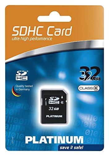 Platinum 32 GB Class 6 SDHC Speicherkarte -