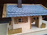 Dachschindeln Anthrazit für Vogelhaus - 4