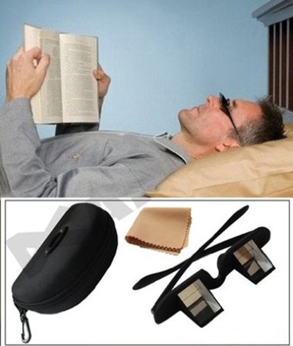 Andux occhiali prisma orizzontale per la lettura o...