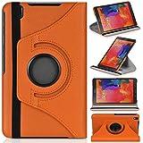 DONZO Wallet Structure 360 Tablet Tasche für Samsung Galaxy Tab Pro 8.4 T320 T325 Orange