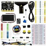 KEYESTUDIO Kit débutant pour BBC Micro: bit- avec Guide leçons, Photo et tutoriels Apprentissage Simple...