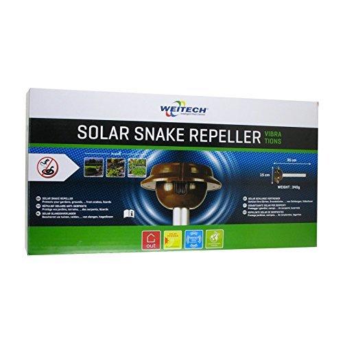 Weitech WK2030 Solar Schlangen und Eidechsen Verteiber