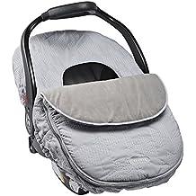 JJ Cole Infant Car Seat Cover Gray Grey Herringbone Stitch Color
