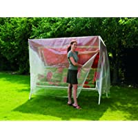 Cubierta para balancín de 3plazas transparente, 215x 123x 160/90cm