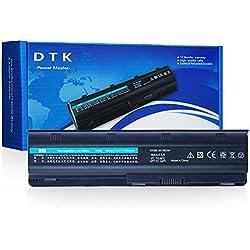 Dtk Batterie Haute Performance pour Ordinateur PortableHP MU06 Notebook Batterie 593553-001 G62 G32 G42 G42T G56 G72 G4 G6 G6T G7; Compaq Presaio CQ32 CQ42 CQ43 CQ56 CQ62 Series ; HP Envy 17; HP Pavilion DM4, also fits P/N MU09 [10.8v 6600mah 9-cell]