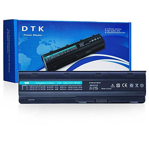 Dtk® Batería de Repuesto para Portátil Hp G32 G42 G62 G4 G6 G7 ; Compaq Presario Cq32 Cq42 Cq43 Cq430 Cq56 Cq62 Cq72 ; Hp Pavilion Dm4 ;Fits Mu06 593553-001 593554 Mu09 [10.8v 6600mah 9-cell]