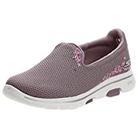 SKECHERS Go Walk 5, Women's Shoes, Pink (Mauve), 39 EU