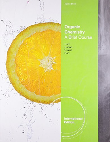 Organic Chemistry: A Brief Course by David J. Hart (2011-05-16)