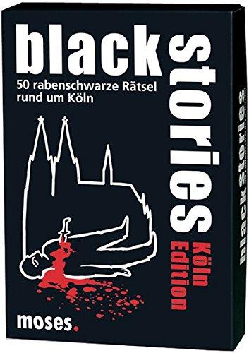 Preisvergleich Produktbild moses. black stories Köln Edition | 50 rabenschwarze Rätsel | Das Krimi Kartenspiel