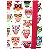 Emartbuy® PU Leather Multi Angle Executive Folio Wallet Cover For Lenovo Tab 4 10 Plus (Size 10 Inch_Multi Owls)