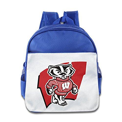 Wisconsin Badgers Kleinkind Kinder Schulter Schule Tasche pink, Königsblau (Blau) - KOLA-8217332-ERTshubao-RoyalBlue-29