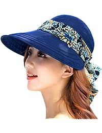 ABLE Mujer Sombrero De Sol Anti UV Ancha Visera Casquillo