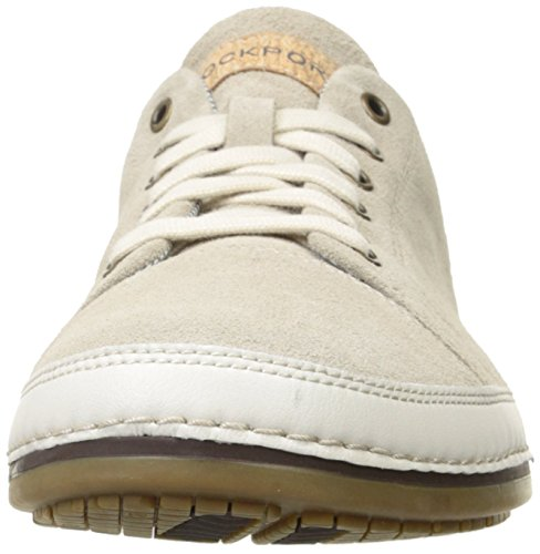 Rockport Mens Harborpoint Lace to Toe Rock Sand Suede