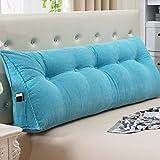 uus Rimbalzo lento Triangolo cuscino divano schienale morbido Pacchetto Bed vita di grandi dimensioni infermieristica cuscino 22 * 50 * 135 centimetri ( Colore : H. )