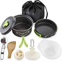 Tragbares Outdoor-Camping-abnehmbare Stativ Kochen Stativ Cooker f/ür Picknick Grill