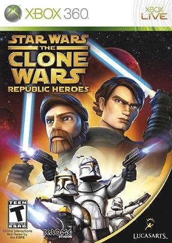 Star Wars the Clone Wars: Republic Heroes XBOX 360 [Englisch Uncut] [Xbox 360]